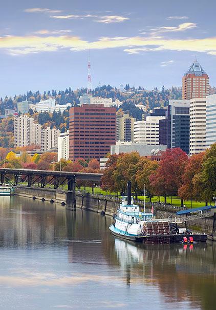 Portland-Oregon-River-Front